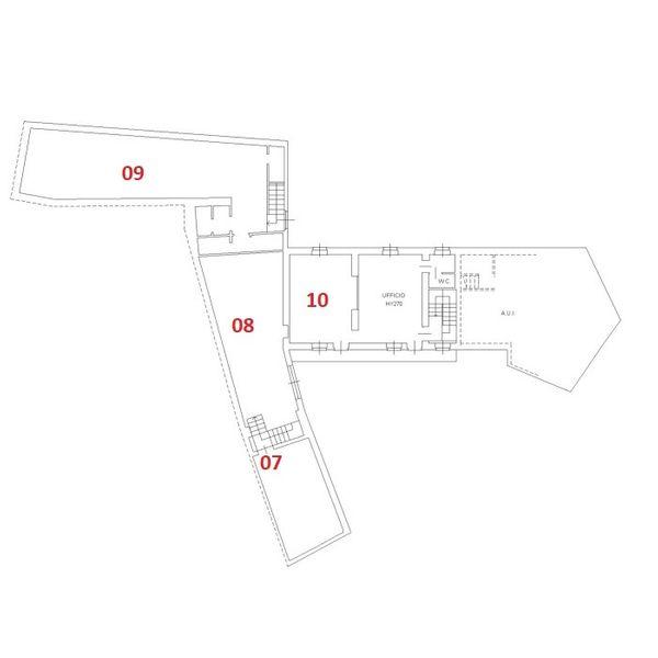 Immagine n0 - Planimetria - Piano primo - Asta 2509