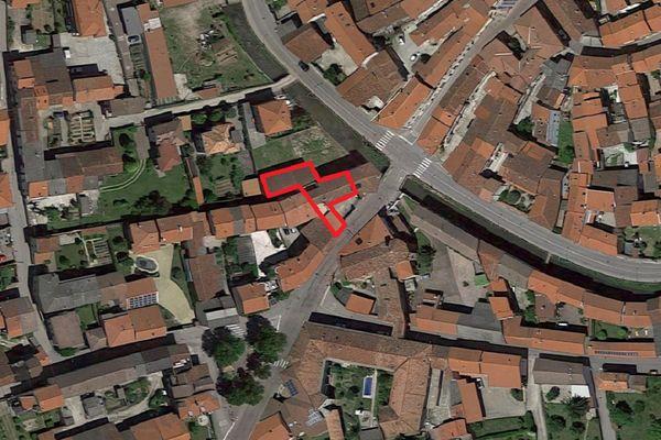 Immagine n1 - Planimetria - Vista aerea - Asta 2509