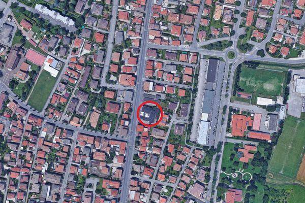 Immagine n0 - Planimetria - Vista aerea - Asta 2568