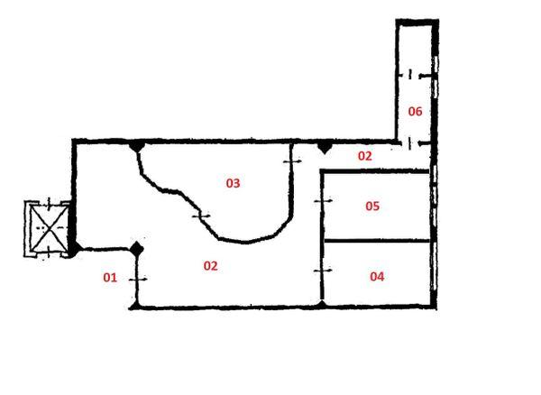 Immagine n4 - Planimetria - Piano terra - Asta 2568