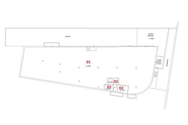Immagine n1 - Planimetry - Basement - Asta 2581