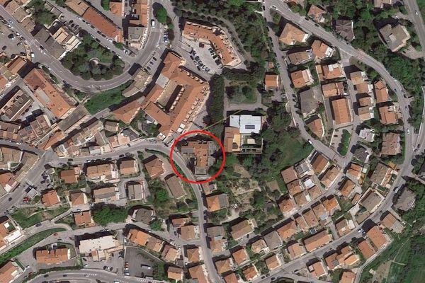 Immagine n1 - Planimetria - Vista aerea - Asta 2737