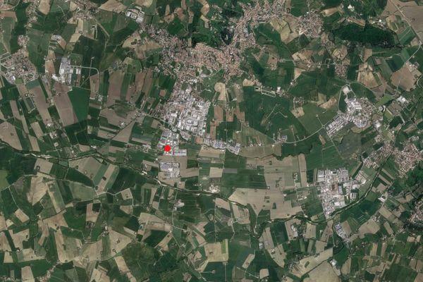 Immagine n0 - Planimetria - Vista aerea - Asta 2739