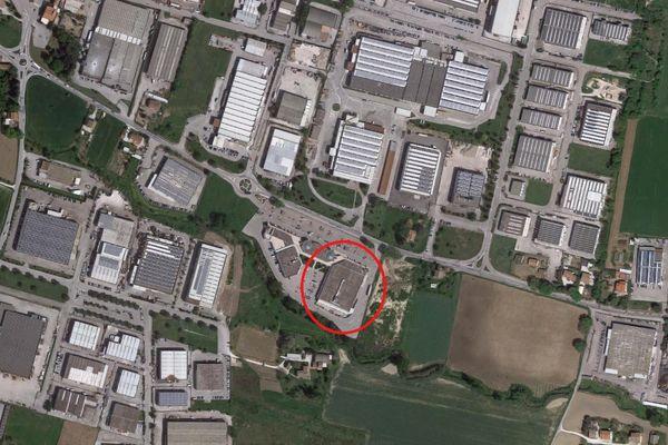 Immagine n1 - Planimetria - Vista aerea - Asta 2746