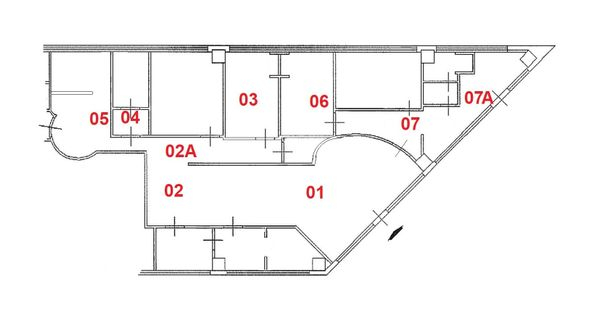 Immagine n0 - Planimetria - Piano Primo - Asta 2746