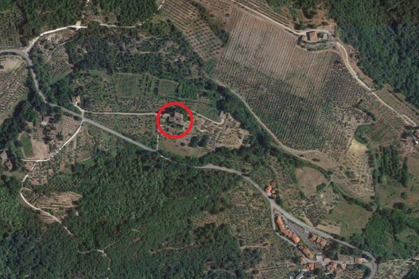 Immagine n0 - Planimetria - Vista aerea - Asta 2765