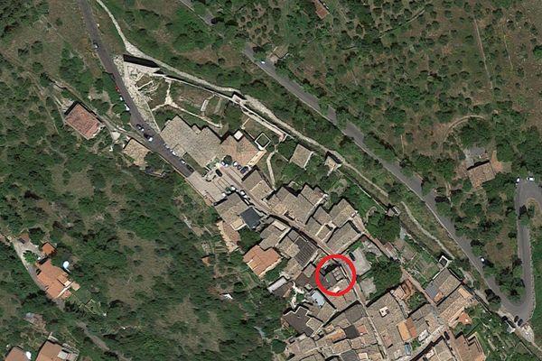 Immagine n0 - Planimetria - Vista aerea - Asta 2775