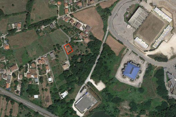Immagine n0 - Planimetria - Vista aerea - Asta 2777