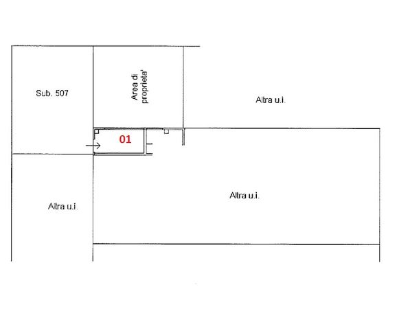 Immagine n0 - Planimetry - Ground floor - Asta 2781
