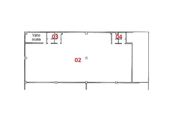 Immagine n2 - Planimetry - First floor - Asta 2781