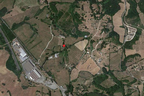 Immagine n0 - Planimetria - Vista aerea - Asta 2816