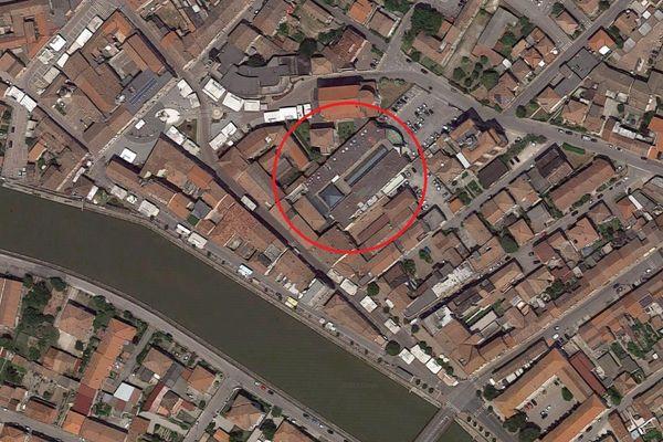 Immagine n1 - Planimetria - Vista aerea - Asta 2834