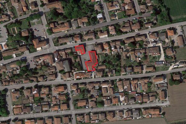 Immagine n2 - Planimetria - Vista aerea - Asta 2846