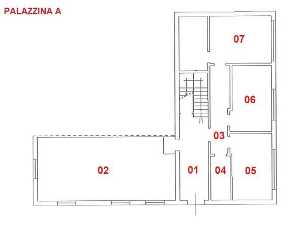 Immagine n0 - Planimetria - Piano terra - A - Asta 2846