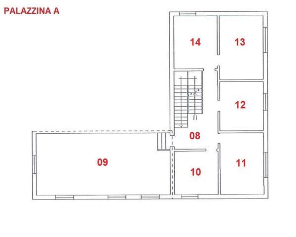 Immagine n0 - Planimetria - Piano primo - A - Asta 2846