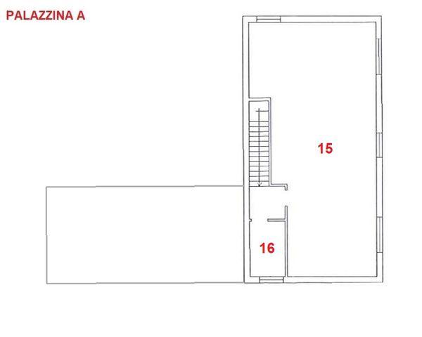 Immagine n0 - Planimetria - Piano secondo - A - Asta 2846