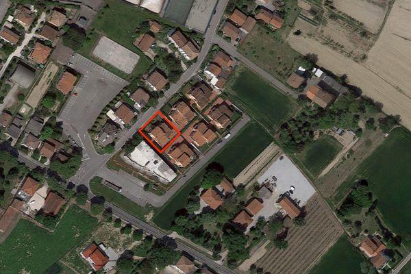 Immagine n1 - Planimetria - Vista aerea - Asta 2863