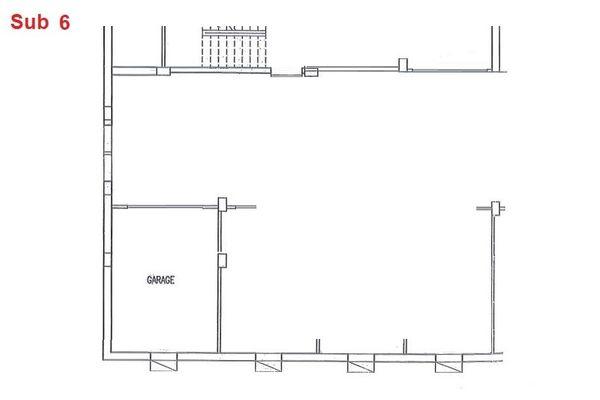 Immagine n0 - Planimetria - Piano interrato - garage - Asta 2863
