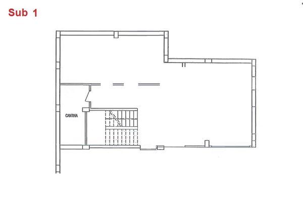 Immagine n0 - Planimetria - Piano interrato - cantina - Asta 2863