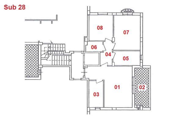 Immagine n1 - Planimetria - Piano primo - Asta 2865