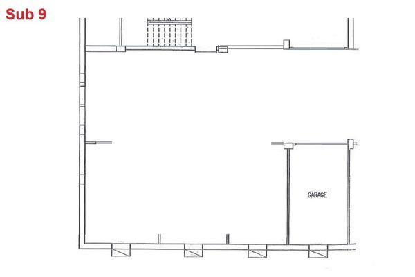 Immagine n0 - Planimetria - Piano interrato - garage - Asta 2865
