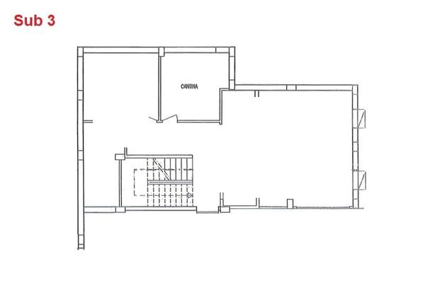 Immagine n0 - Planimetria - Piano interrato - cantina - Asta 2865