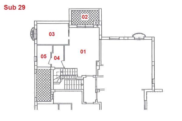 Immagine n1 - Planimetria - Piano primo - Asta 2866