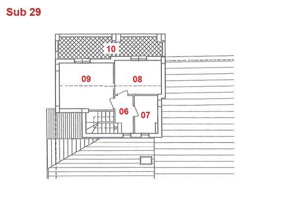 Immagine n2 - Planimetria - Piano secondo - Asta 2866