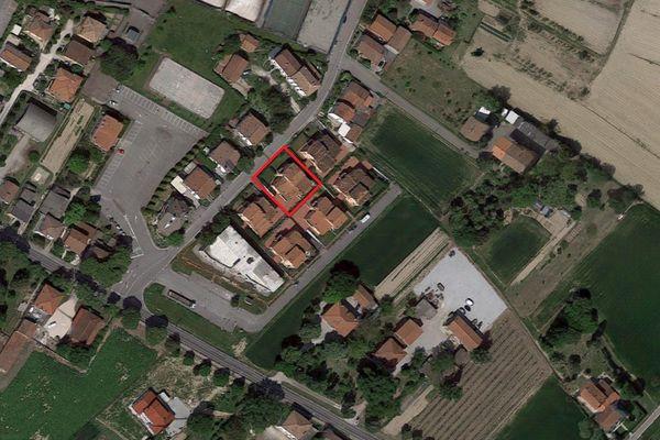 Immagine n1 - Planimetria - Vista aerea - Asta 2867