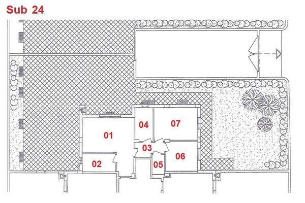Immagine n1 - Planimetria - Piano terra - Asta 2867