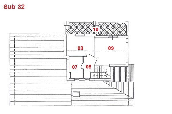 Immagine n2 - Planimetry - Second floor - Asta 2869
