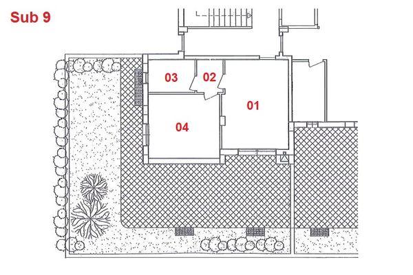 Immagine n1 - Planimetria - Piano terra - Asta 2870