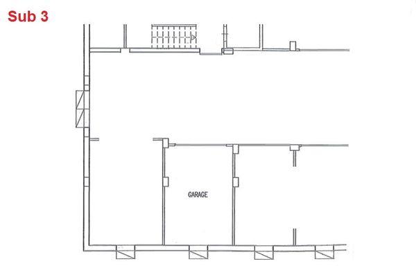 Immagine n0 - Planimetria - Piano interrato - garage - Asta 2870
