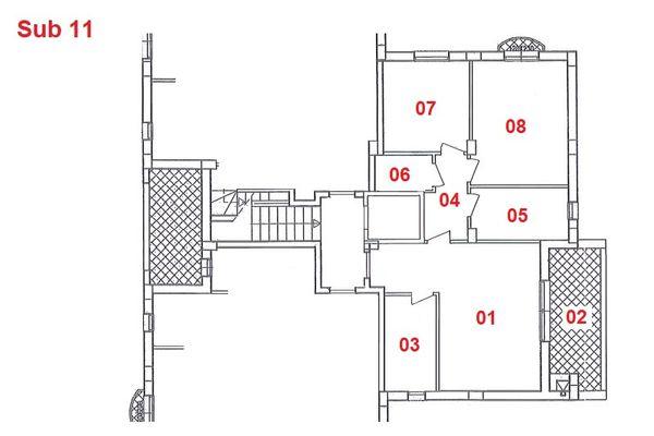 Immagine n1 - Planimetria - Piano primo - Asta 2872