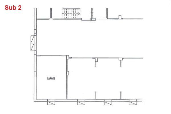 Immagine n0 - Planimetria - Piano interrato - garage - Asta 2872