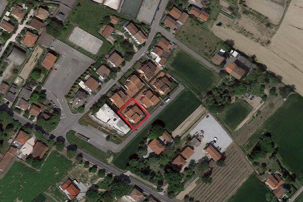 Immagine n1 - Planimetria - Vista aerea - Asta 2873
