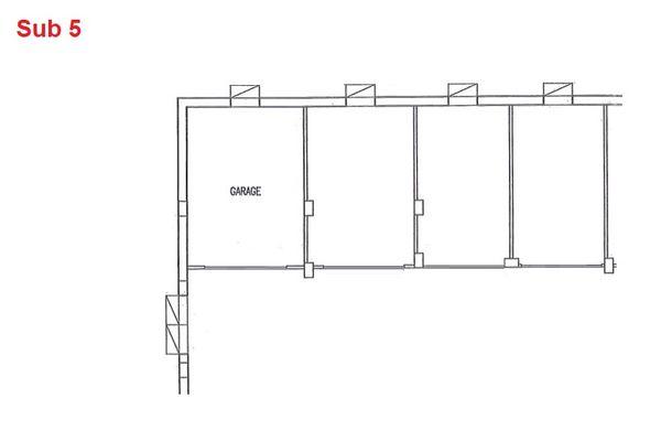 Immagine n0 - Planimetria - Piano interrato - garage - Asta 2873
