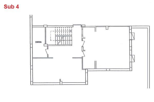 Immagine n0 - Planimetria - Piano interrato - cantina - Asta 2873