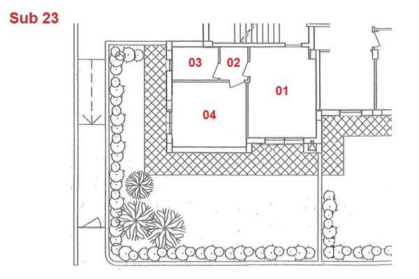Immagine n1 - Planimetria - Piano terra - Asta 2874