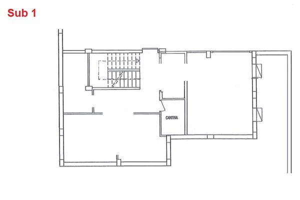 Immagine n0 - Planimetria - Piano interrato - cantina - Asta 2874