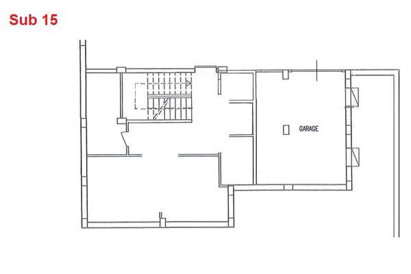 Immagine n0 - Planimetria - Piano interrato - Asta 2875