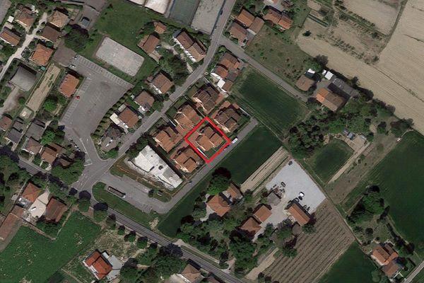Immagine n1 - Planimetria - Vista aerea - Asta 2876