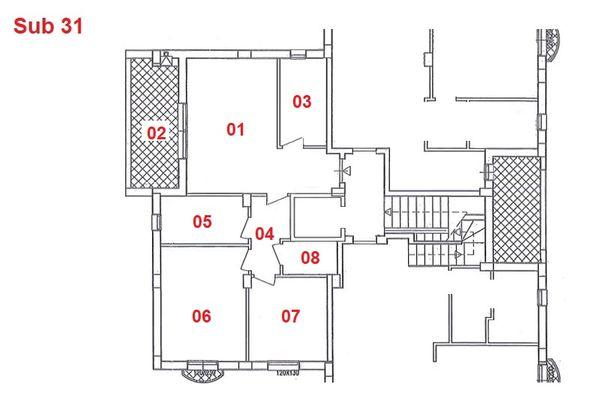 Immagine n1 - Planimetria - Piano primo - Asta 2876