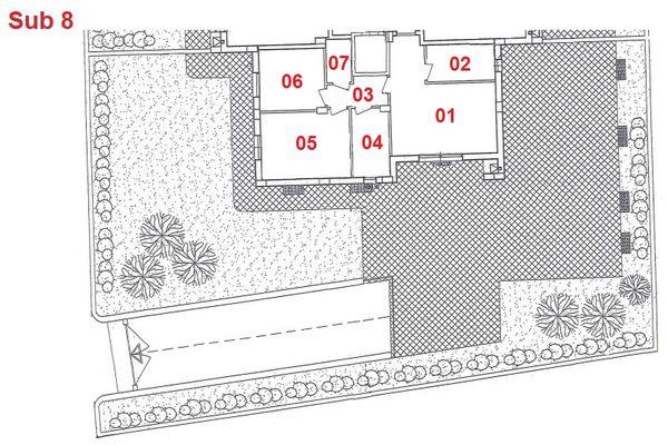 Immagine n1 - Planimetria - Piano terra - Asta 2878