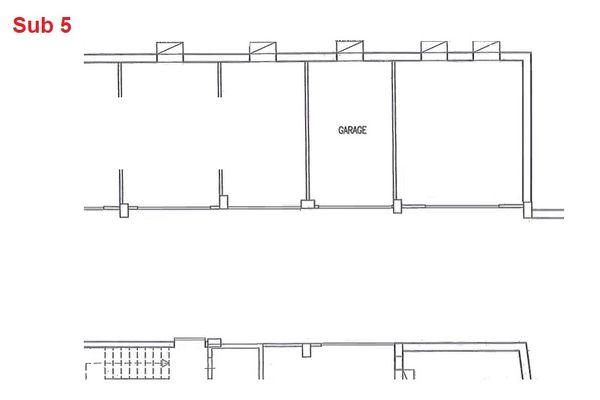 Immagine n0 - Planimetria - Piano interrato - garage - Asta 2878