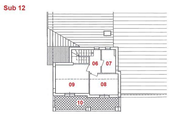 Immagine n2 - Planimetria - Piano secondo - Asta 2880