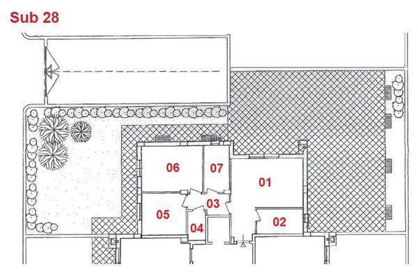 Immagine n1 - Planimetria - Piano terra - Asta 2884