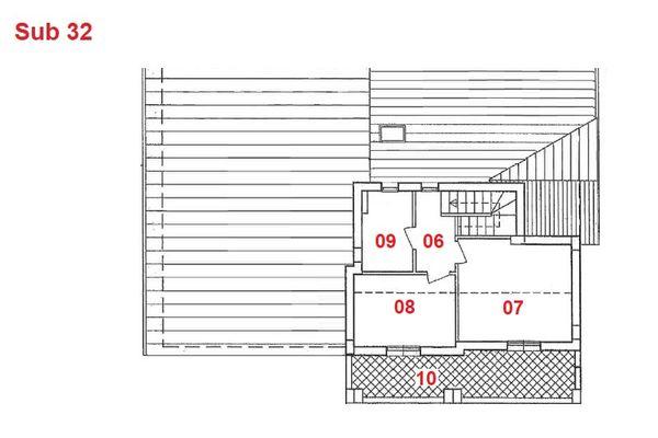 Immagine n2 - Planimetria - Piano secondo - Asta 2885