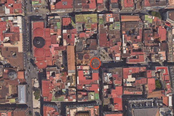 Immagine n1 - Planimetria - Vista aerea - Asta 2890