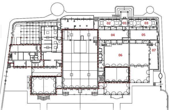 Immagine n1 - Planimetry - A - Ground floor - Asta 2910